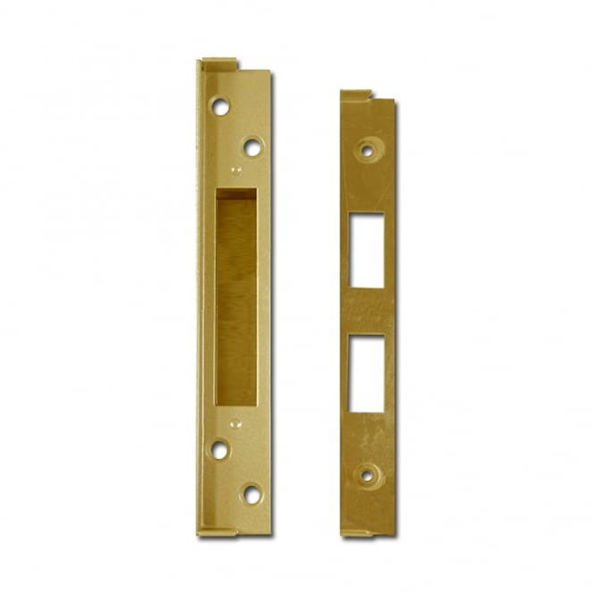 Union 3G110 Polished Brass 13mm Rebate To Suit 3C10, 3G110 & 3G135 Deadlocks