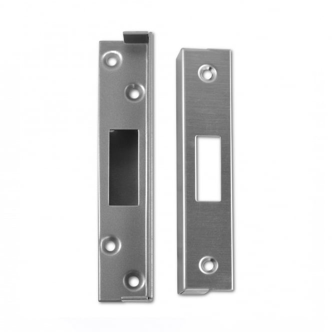 Union 3G114 Satin Chrome 25mm Rebate To Suit 3G114, 3G114E & 3G115 Deadlocks