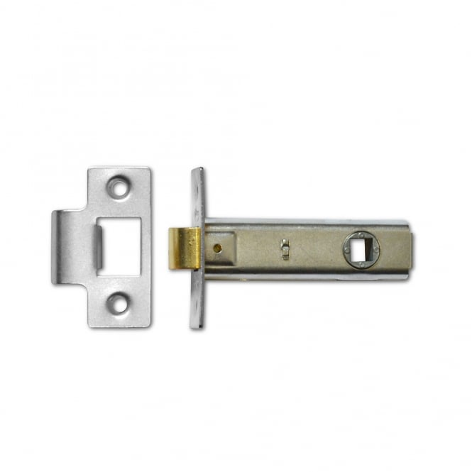 Asec Satin Chrome 64mm Mortice Tubular Latch