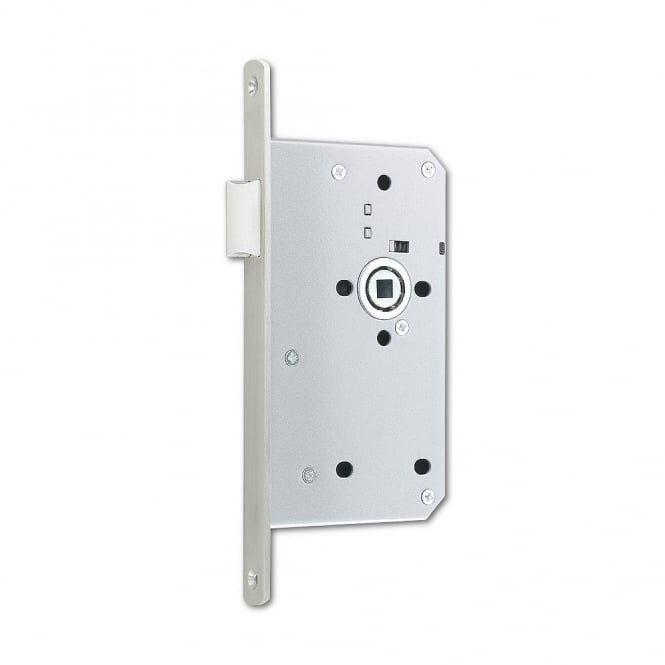 Asec Stainless Steel 60mm DIN Euro Mortice Latch - SQ
