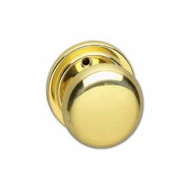 Polished Brass 52mm Mortice Knob