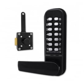Black BL4409MG Wooden Gate Digital Lock