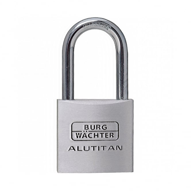 BURG-WÄCHTER 40mm Aluminium Long Shackle Padlock