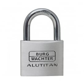 50mm Aluminium Double Bolted Padlock