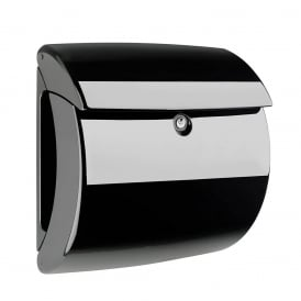 Black Piano Post Box