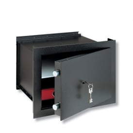 Dark Grey Key Locking CityLine Wall Safe