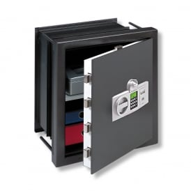 Electronic Combination and Finger Scan Karat Extendable Wall Safe