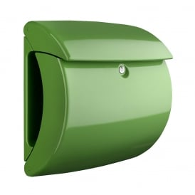 Fresh Green Piano Post Box