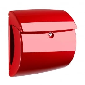 Red Piano Post Box
