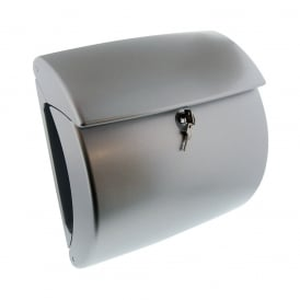 Silver Kiel Post Box