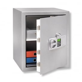 Stainless Steel Electronic Combination and Finger Scan Karat Safe