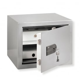 Stainless Steel Key Locking Karat Safe