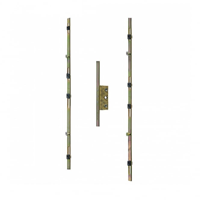 Chameleon Adaptable Window Espage Rod With 13mm Faceplate and 25mm Backset