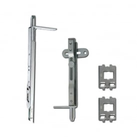 Pair of Adaptable French Door Shootbolt
