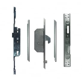 UPVC Adaptable Multipoint Lock 2 Hook & 2 Roller + Keeps - 25/92 Single Spindle