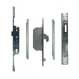 UPVC Adaptable Multipoint Lock 2 Hook & 2 Roller + Keeps - 28/92 Single Spindle