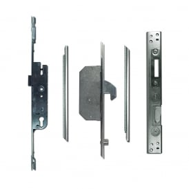 UPVC Adaptable Multipoint Lock 2 Hook & 2 Roller + Keeps - 30/92 Single Spindle