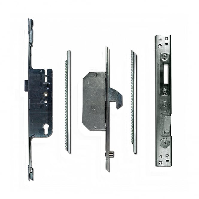 Chameleon UPVC Adaptable Multipoint Lock 2 Hook & 2 Roller + Keeps - 45/92 Split Spindle