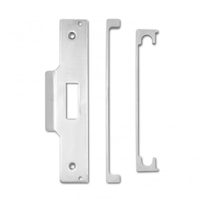 Asec Satin Chrome 13mm Rebate To Suit Mortice Nightlatch