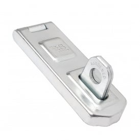 100mm Zinc Plated Steel Hasp and Staple