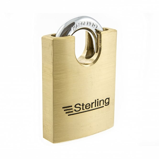 Sterling 50mm Premium Brass Closed Shackle Padlock