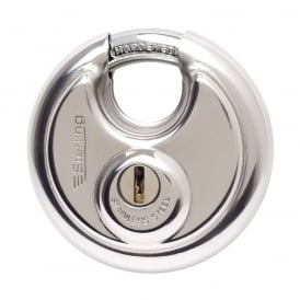 70mm Stainless Steel Disc Padlock