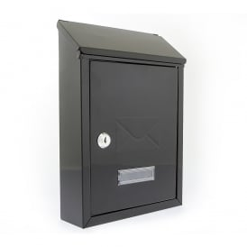 Black Avon Post Box