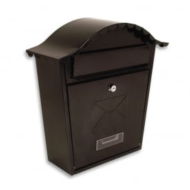 Black Classic Post Box