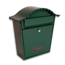 Green Classic Post Box