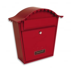Red Classic Post Box
