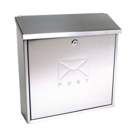 Stainless Steel Contemporary Post Box