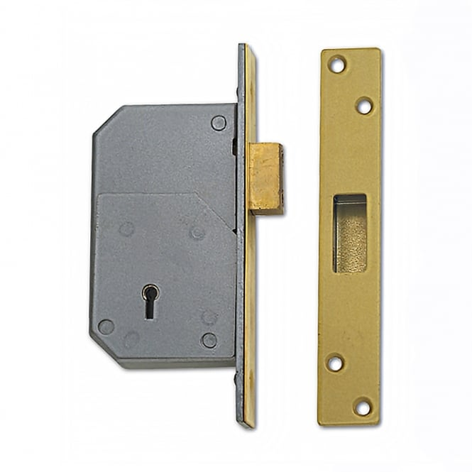 Union C-Series Polished Brass 73mm 3G110 Detainer Deadlock