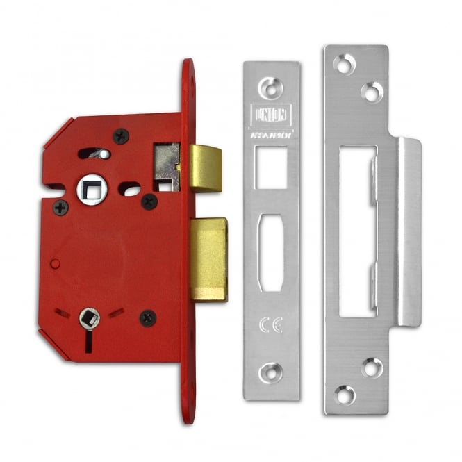 Union Stainless Steel 75mm J22WCS StrongBOLT 5 Lever Bathroom Lock