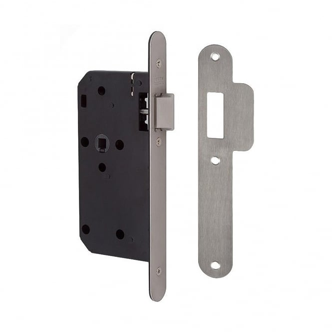 Union Stainless Steel 83mm J2C23 DIN Mortice Latch- RD