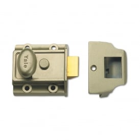 Bronze 706 40mm Traditional Nightlatch - Case Only