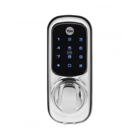 Chrome Plated Keyless Connected Smart Lock